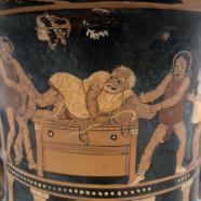 Mitska tematika v grški stari komediji